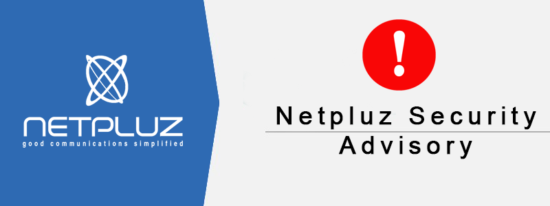 Netpluz Security Advisory