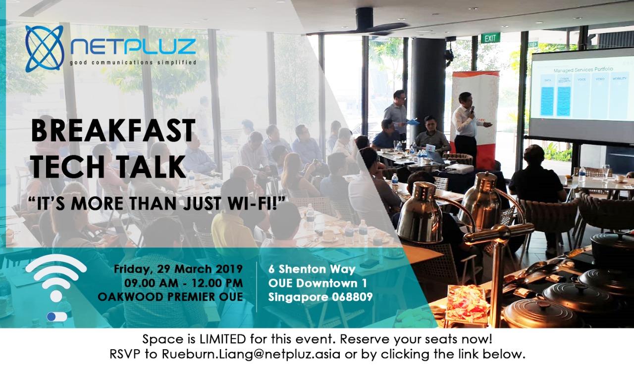 Breakfast Tech Talk | It's More Than Just Wi-Fi!