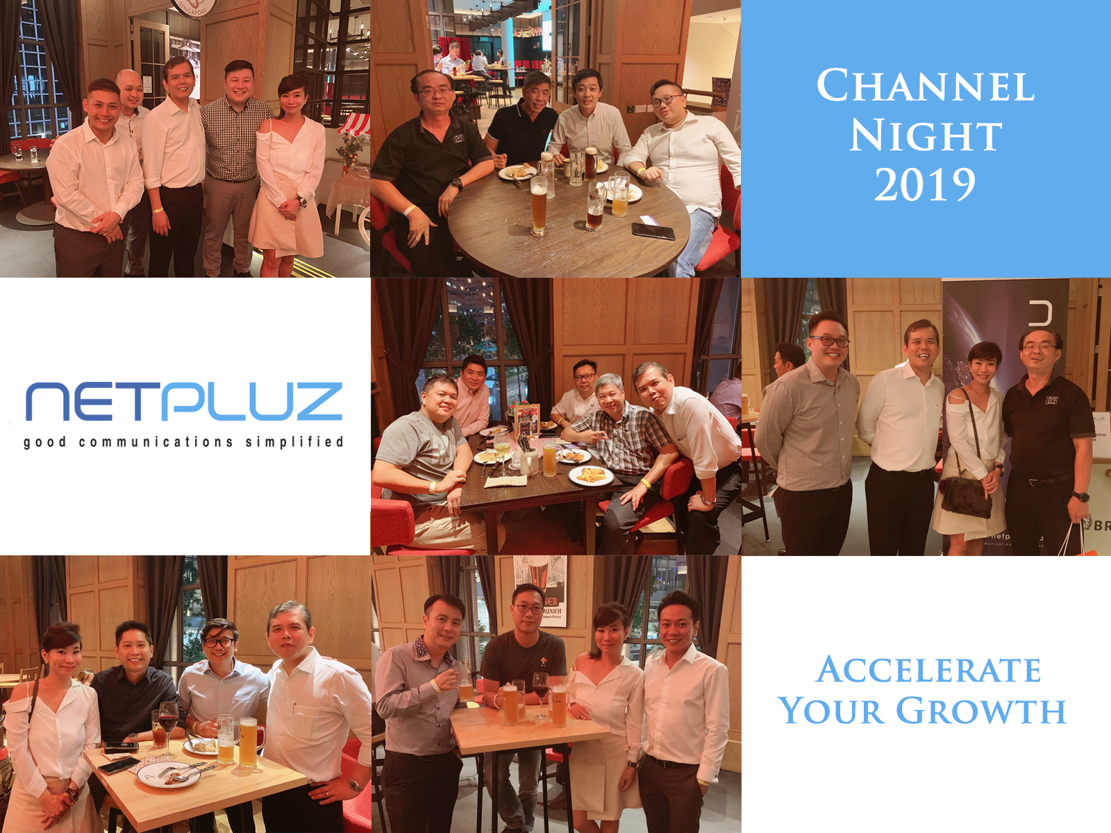 Channel Night 2019: Accelerate Your Growth!