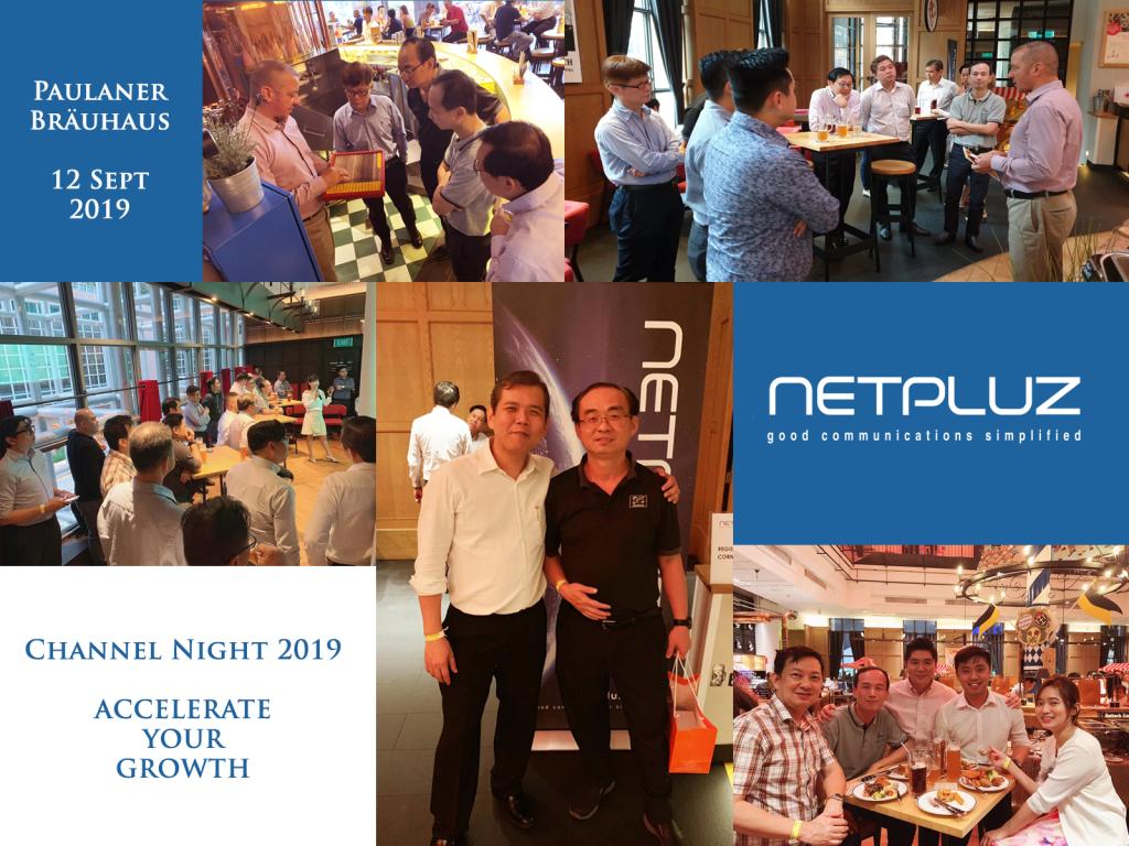 Netpluz Channel Night 2019 Managed Service Provider Singapore