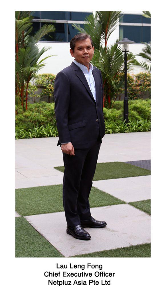 Lau Leng Fong Netpluz CEO