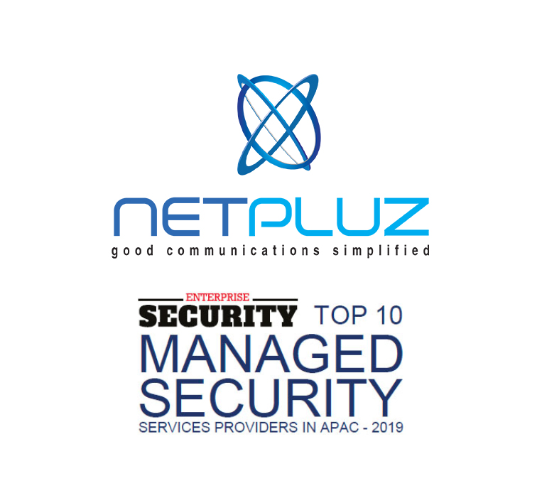 Enterprise Security: NETPLUZ as TOP 10 Managed Security Service Provider in APAC 2019
