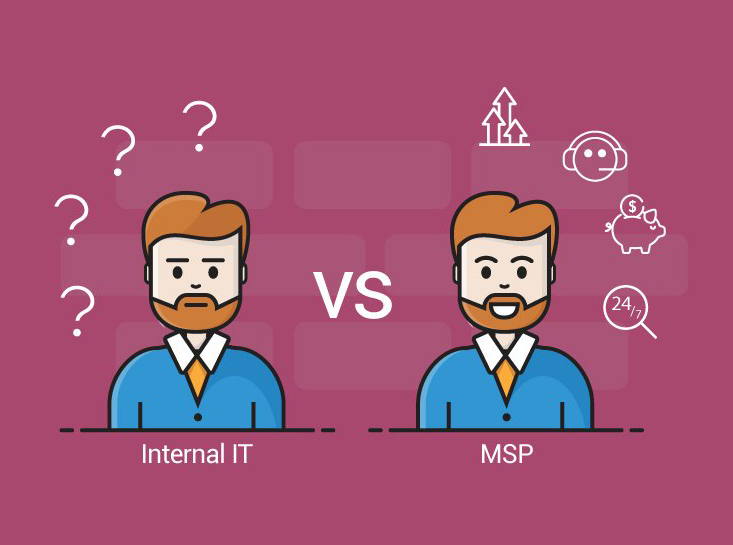 Internal IT vs MSP