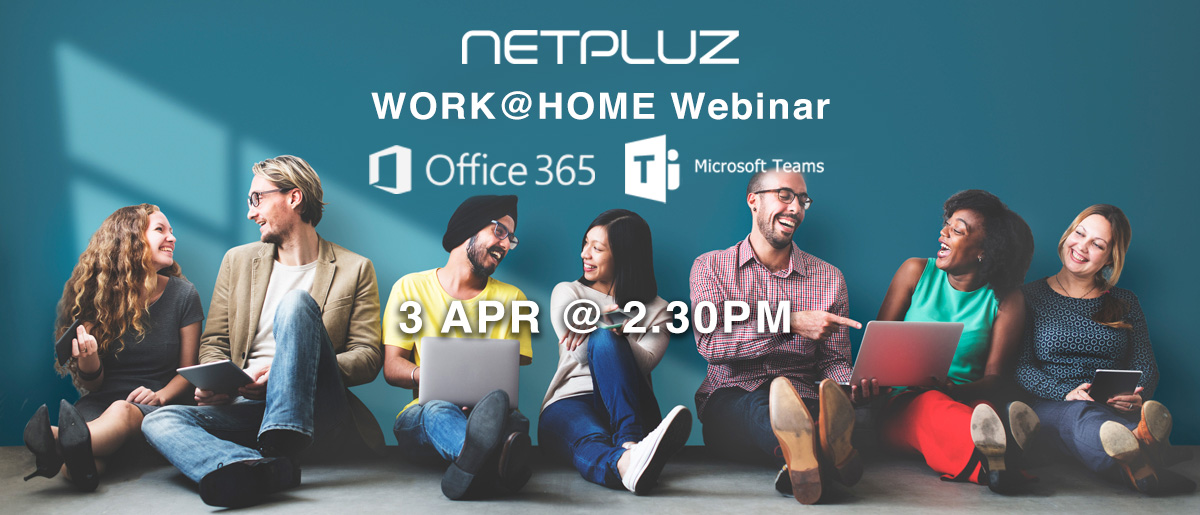 Webinar | Work@Home | Creating the Modern Workspace with Microsoft O365 & Teams