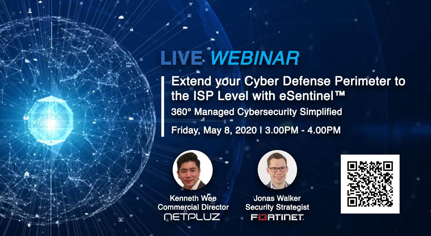 Webinar | eSentinel™ – 360° Managed Cybersecurity, Simplified