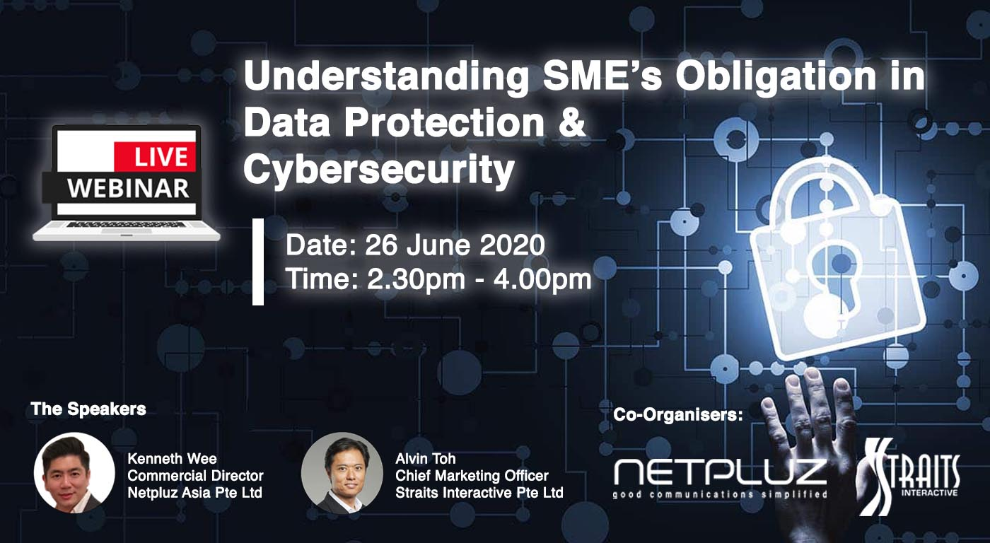 LIVE Webinar | Understanding SME's Obligation in Data Protection and Cybersecurity