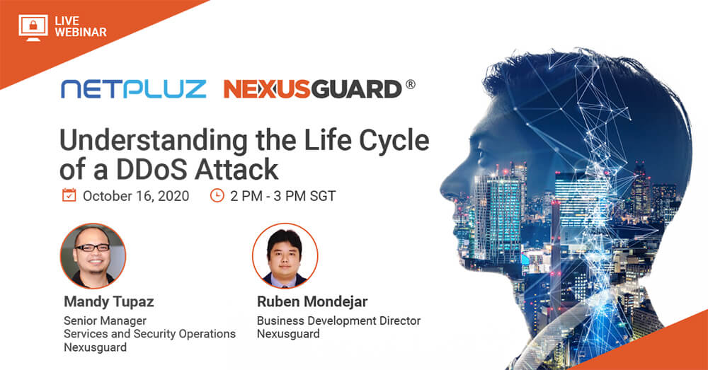 Webinar | Understanding the Life Cycle of a DDoS Attack