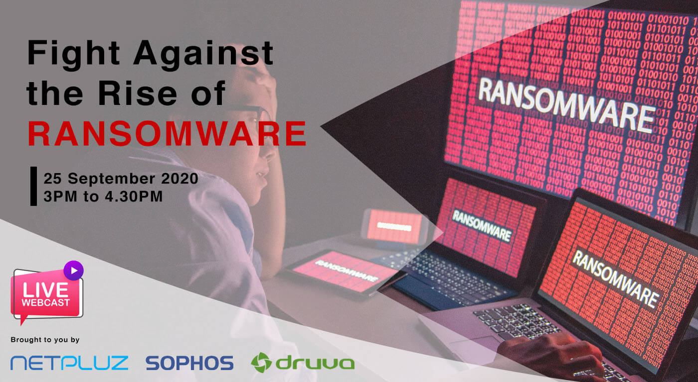 Webinar Recording | Fight Against the Rise of Ransomware