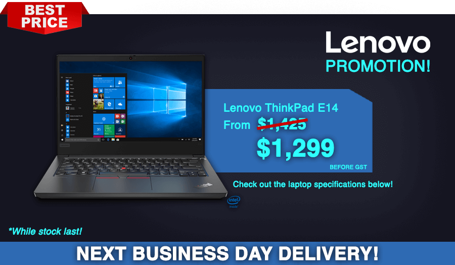 Laptop promotion