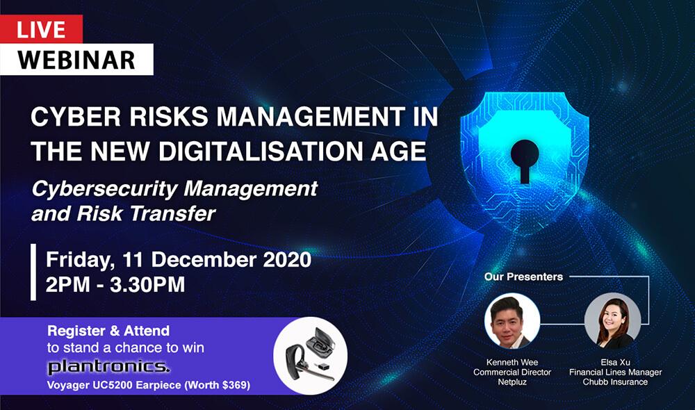 LIVE Webinar | Cyber Risks Management in the New Digitalisation Age